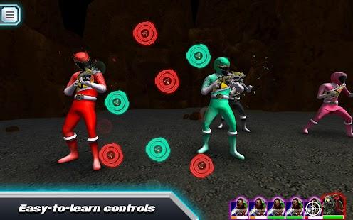 Power Rangers Dino Rumble- screenshot