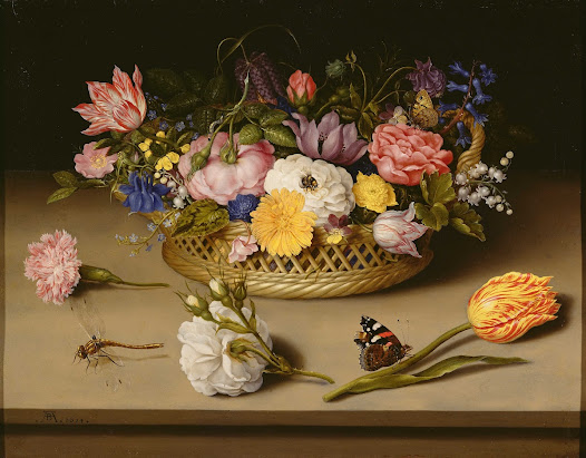 Flower Still Life - Ambrosius Bosschaert the Elder (Dutch, 1573 - 1621) – Google Cultural Institute