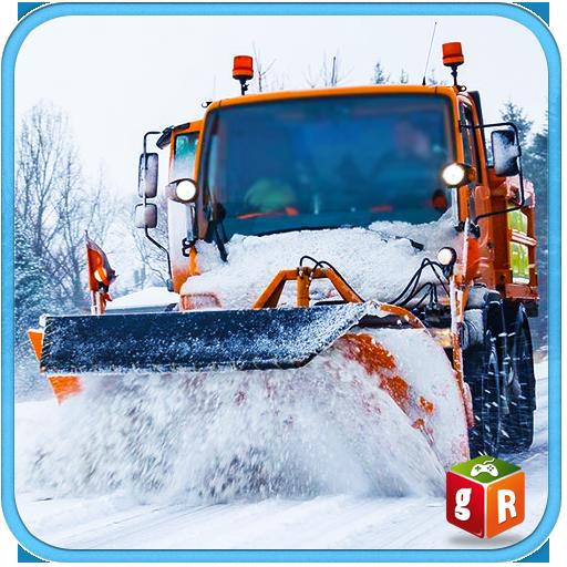 Snow Plow Rescue Excavator Sim (game)