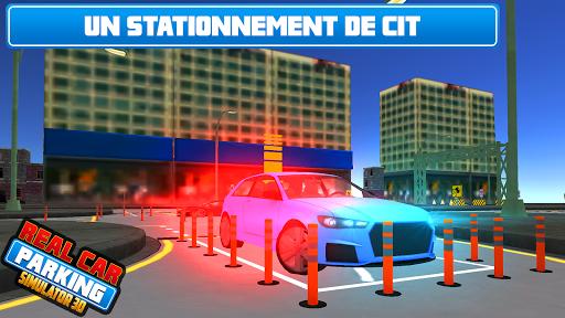 Réal Voiture Stationnement Maître 3D  captures d'écran 1