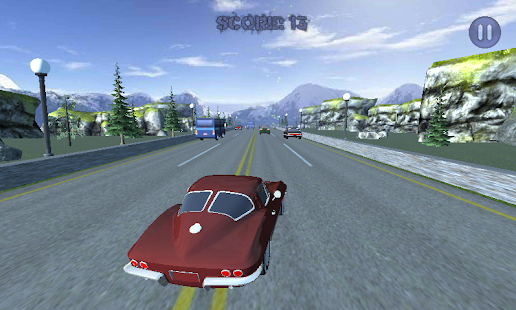 Sports Car Traffic Racing 3D Screenshot