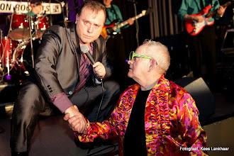 Photo: JOHNNY EARL (UK) samen met Peter van Hamond (NL)