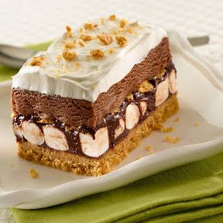 S'more Ice Cream Cake.