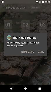 Thai Frog Sounds - náhled