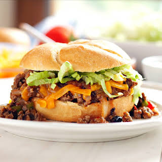 One Pan Mexican Style Sloppy Joes.