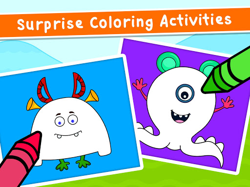 Coloring Games for Kids - Drawing & Color Book  screenshots 21