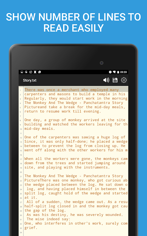 Notepad - Text Editor- screenshot