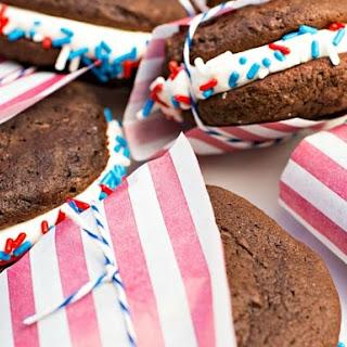 Patriotic Whoopie Pies