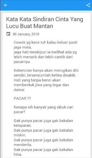 Download Status Wa Sindiran Mantan Pacar Google Play Softwares