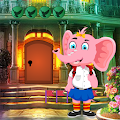 Funny Elephant Rescue Best Escape Game-348