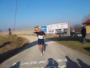 Zdjęcie: Piotr Karolczyk z Poznania w znakomitym czasie 3:13,15  pokonał trasę Maratonu Beskidy z półmetkiem na Skrzycznem !