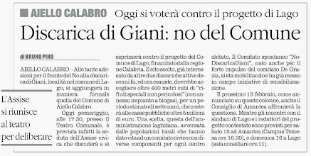 Photo: Il Quotidiano 10.02.2014, pag. 48