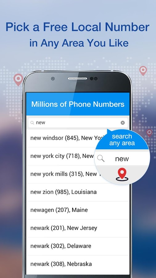 Telos Free Phone Number Unlimited Calls and Text Android Apps