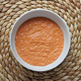 Velvety Tomato & Rice Soup.