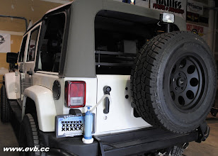 Photo: AEV Rear Bumper with a 33 Toyo AT tire