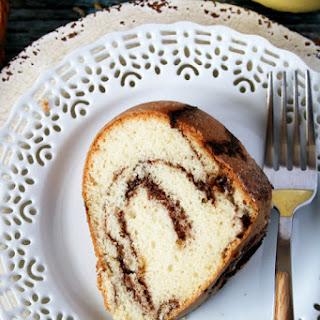 Quick And Easy Chocolate Cinnamon Swirl Coffee Cake