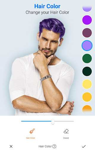 Image of Handsome : Men Photo Editor, New Hairstyle for Men 1.1 2