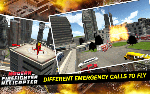 Code Triche Modern Firefighter Helicopter APK MOD screenshots 1