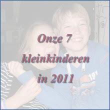 Photo: 2011: een overzicht van de gebeurtenissen in het leven van onze 7 kleinkinderen. Dit jaar worden ze 13,11,10 en 8.