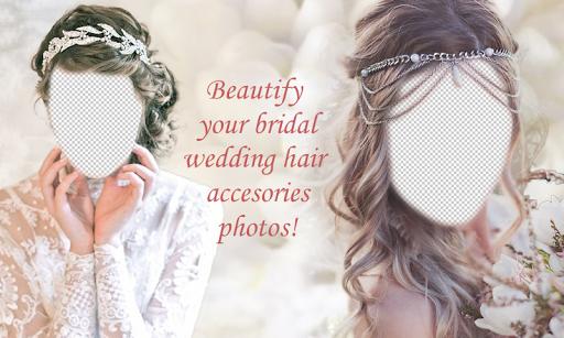 Bride Hair Accessories Montage