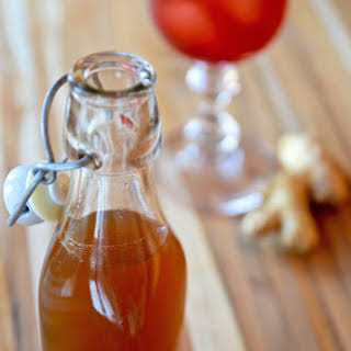 Honey Ginger Syrup.