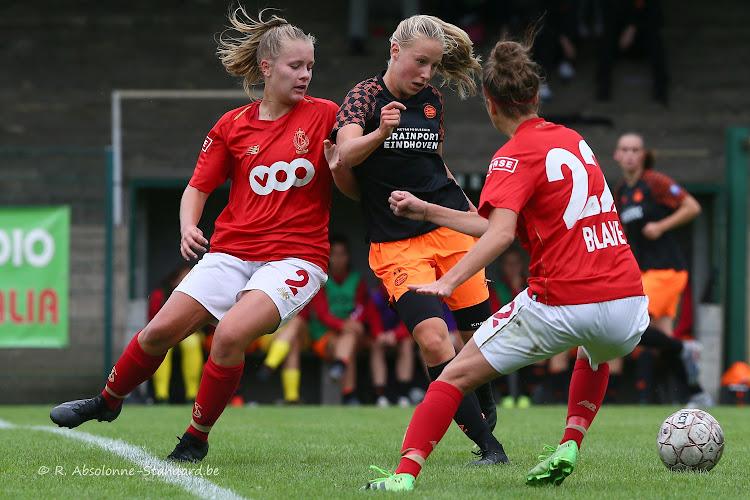 Vrouwenploeg Standard houdt PSV af in boeiend oefenduel