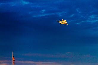 Photo: Last time a shuttle saw the sky.