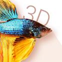 Betta Fish 3D Free - 3D Live Wallpaper icon