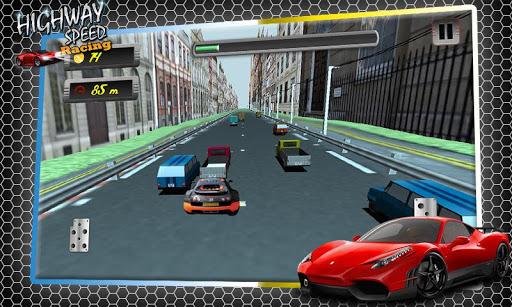 Highway Speed Car Racing 3D