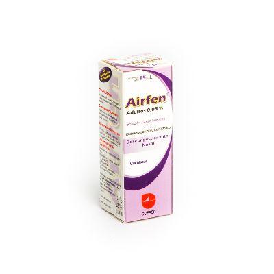 Oximetazolina Clorhidrato Airfen Adulto Gotas Nasales 0,05% x 15mL