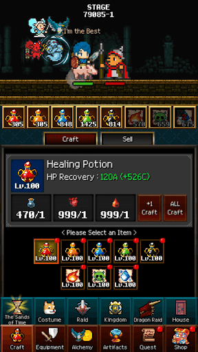 Dungeon & Alchemist - Incremental Idle Pixel RPG filehippodl screenshot 7
