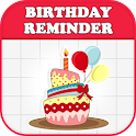 Birthday Reminder & Calendar icon