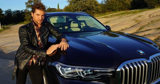 David Bisbal presume de su BMW X7