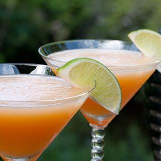 Cantaloupe Martinis.
