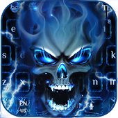 Deadly Hell Skull Keyboard