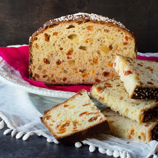 Apricot Ginger Panettone