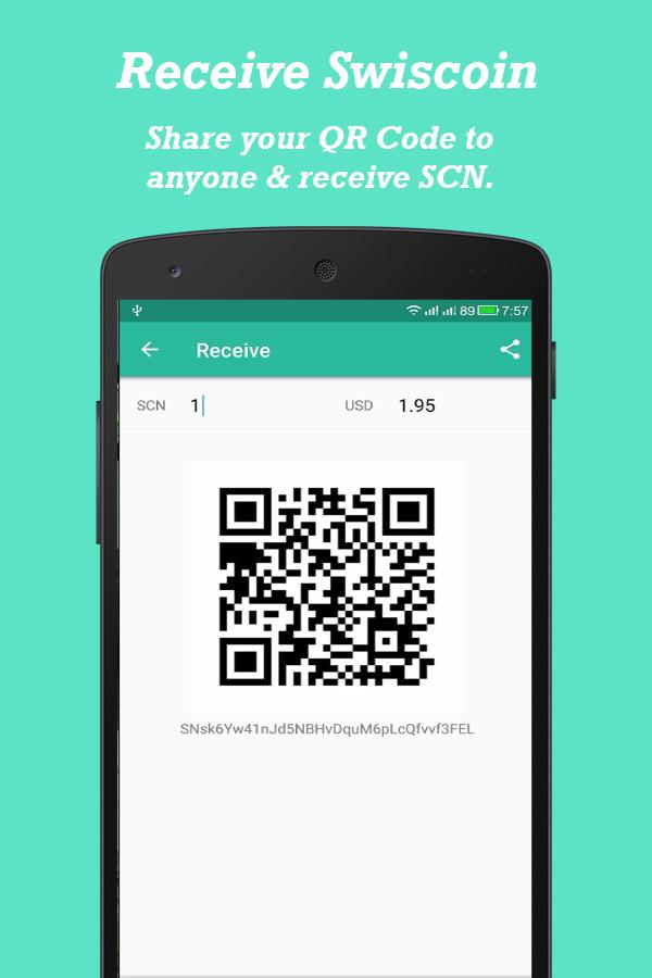 Swis Wallet- screenshot