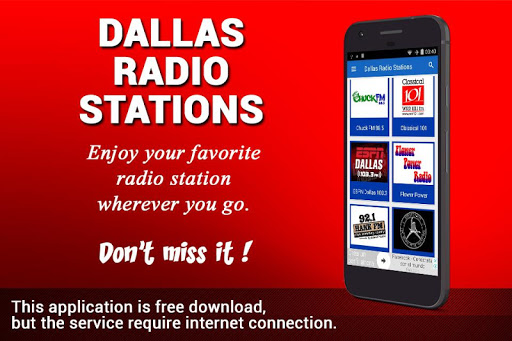 Dallas Radio Stations 1.2 screenshots 1