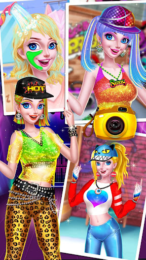 ud83dudc83ud83dudd7aHip Hop Dressup - Fashion Girls Game apkpoly screenshots 7