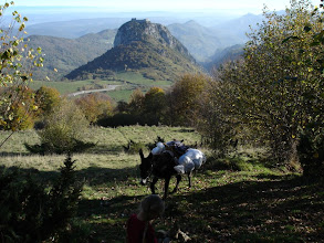 Photo: chateau cathare de montségur (15km)