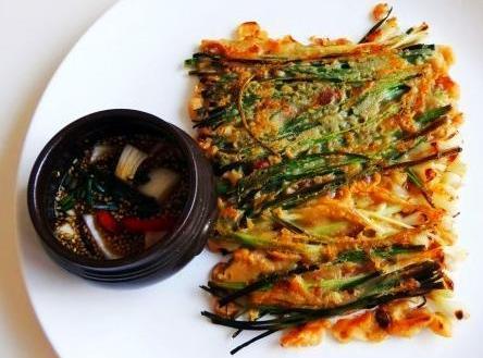 Korean Green Onion Pancakes [pajeon] Recipe