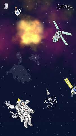 android Man on the Moon Screenshot 2