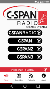 C-SPAN Radio- screenshot thumbnail