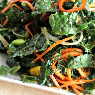 Massaged Kale Salad with Garlic-Sesame Dressing