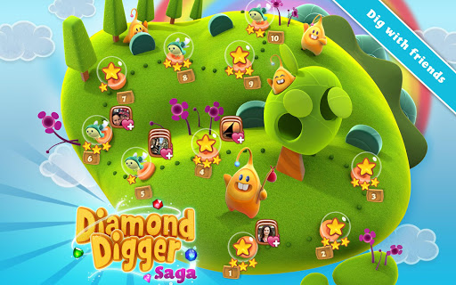 Diamond Digger Saga  screenshots 13