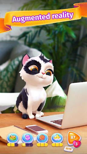 My Cat - Virtual Pet | Tamagotchi kitten simulator apktreat screenshots 1