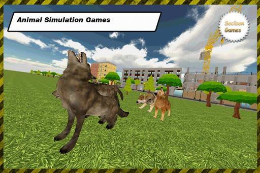 オオカミ狩猟シミュレーション