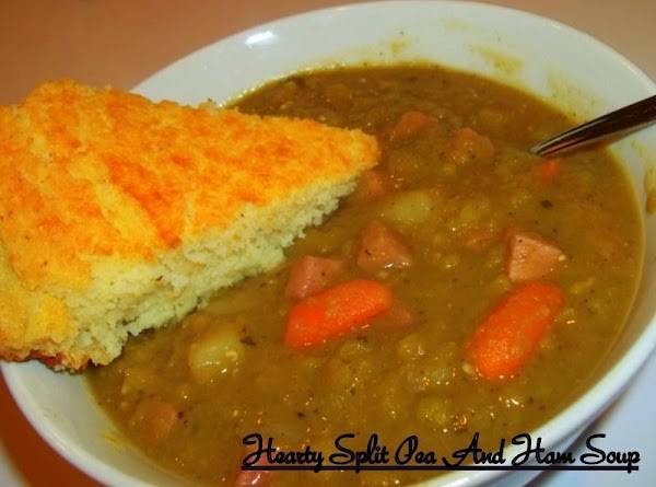 This soup is delicious with a nice crispy slice of corn bread...Yummy!