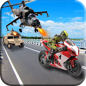 Moto Bike Shooter- Bike Attack 3D Game