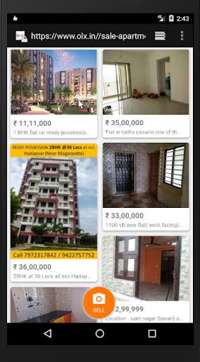 Download Alert OLX India Real Estate for Sale on PC & Mac with